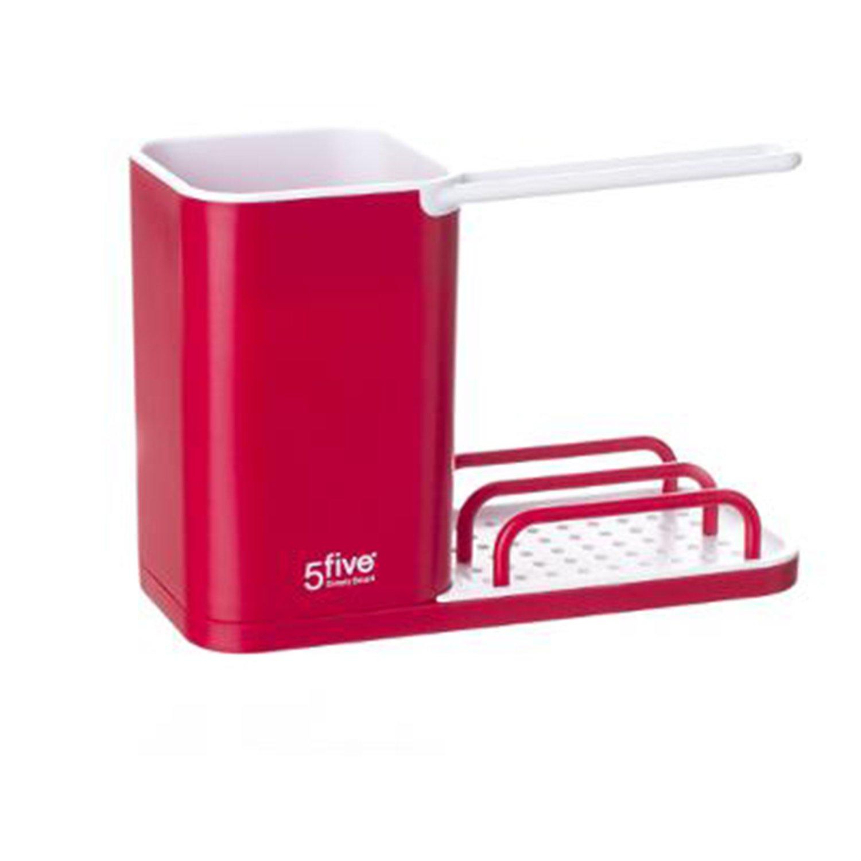 Silley® - Organizer per lavello rosso
