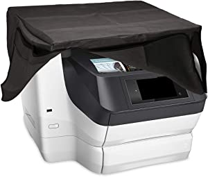 kwmobile Dust Cover Compatible with HP Officejet Pro 8740/8745 - Printer Dust Protector - Dark Grey