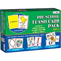 Creative Education Aids 0512 Pre School Flash Card