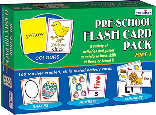 Creative Education Aids 0512 Pre School Flash Card product image