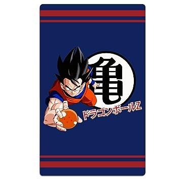 fengziya Dragon Ball Z Saiyan logo de baño/toalla de playa para adultos/31