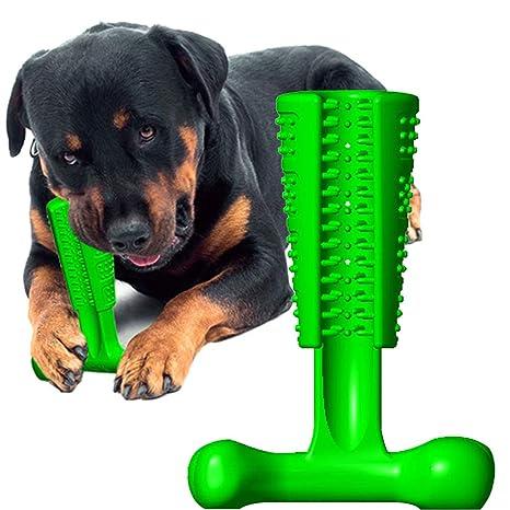 Cepillo de Dientes de Limpieza para Mascotas, con Forma de Hueso, para Mascotas,