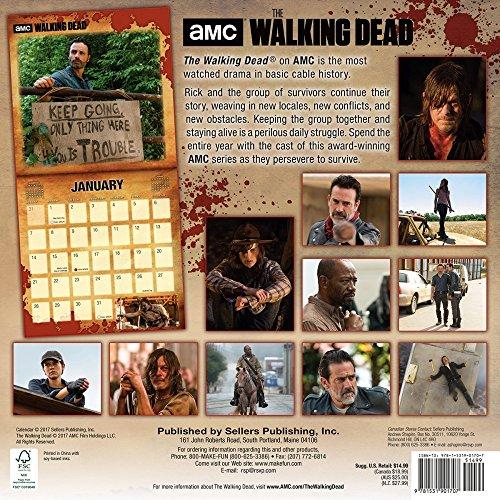 2018 Walking Dead Wall Calendar Photo #3