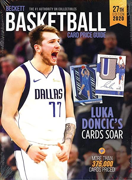 Collezionismo Beckett Basketball Price Guide Beckett Basketball Card Price Guide 2019