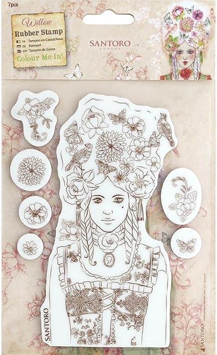 docrafts Santoro Willow CMI Mini Decoupage Paper Pad