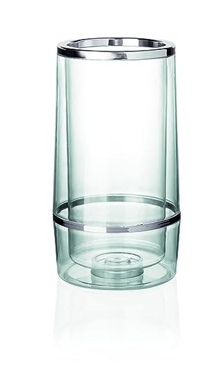 Enfriador de botellas de plástico SAN – Doble pared, Xtra Precio valor, no spülmaschinentauglich