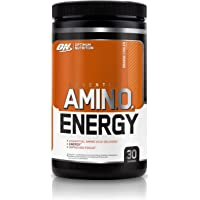 Optimum Nutrition Amino Energy Pre Workout Energy Performance Supplement with Beta Alanine, Caffeine, Amino Acids and Vitamin C. Performance Supplement  - Orange Cooler, 30 Servings, 270g