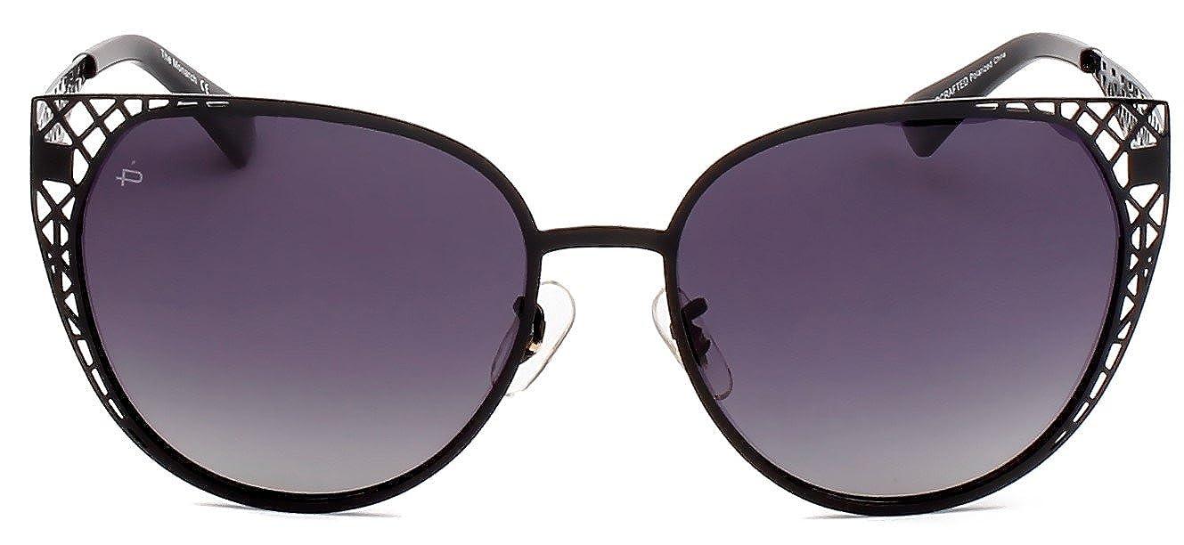 """d79d2c50cb Amazon.com  PRIVÉ REVAUX ICON Collection """"The Monarch"""" Designer Polarized  Cat-Eye Sunglasses  Clothing"""