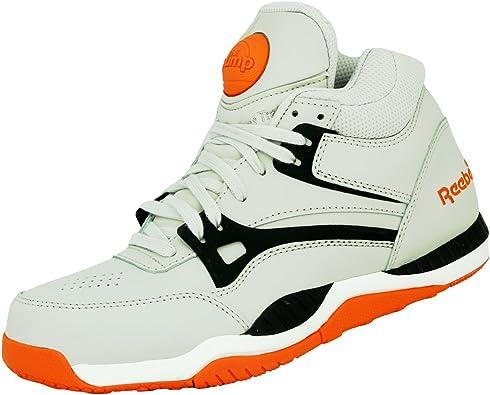 Reebok Pump AXT Chaussures Mode Sneakers Homme Cuir Gris