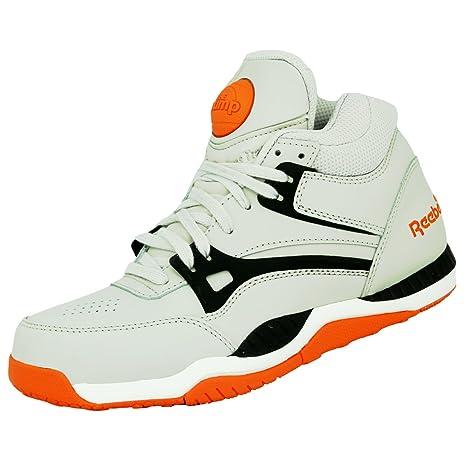 Per Scarpe Pelle Grigio Sneakers Moda UomoAmazon Axt Reebok Pump qVpSMUz