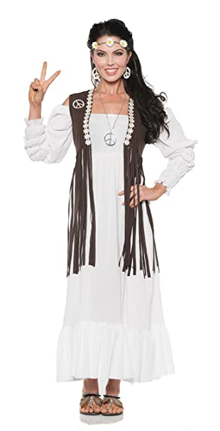 Hippie Costumes, Hippie Outfits Adult 60s Earth Child Costume $29.72 AT vintagedancer.com