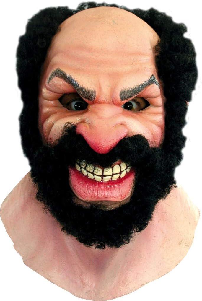 Generique - Máscara de hombre barbudo Halloween: Amazon.es: Juguetes y juegos