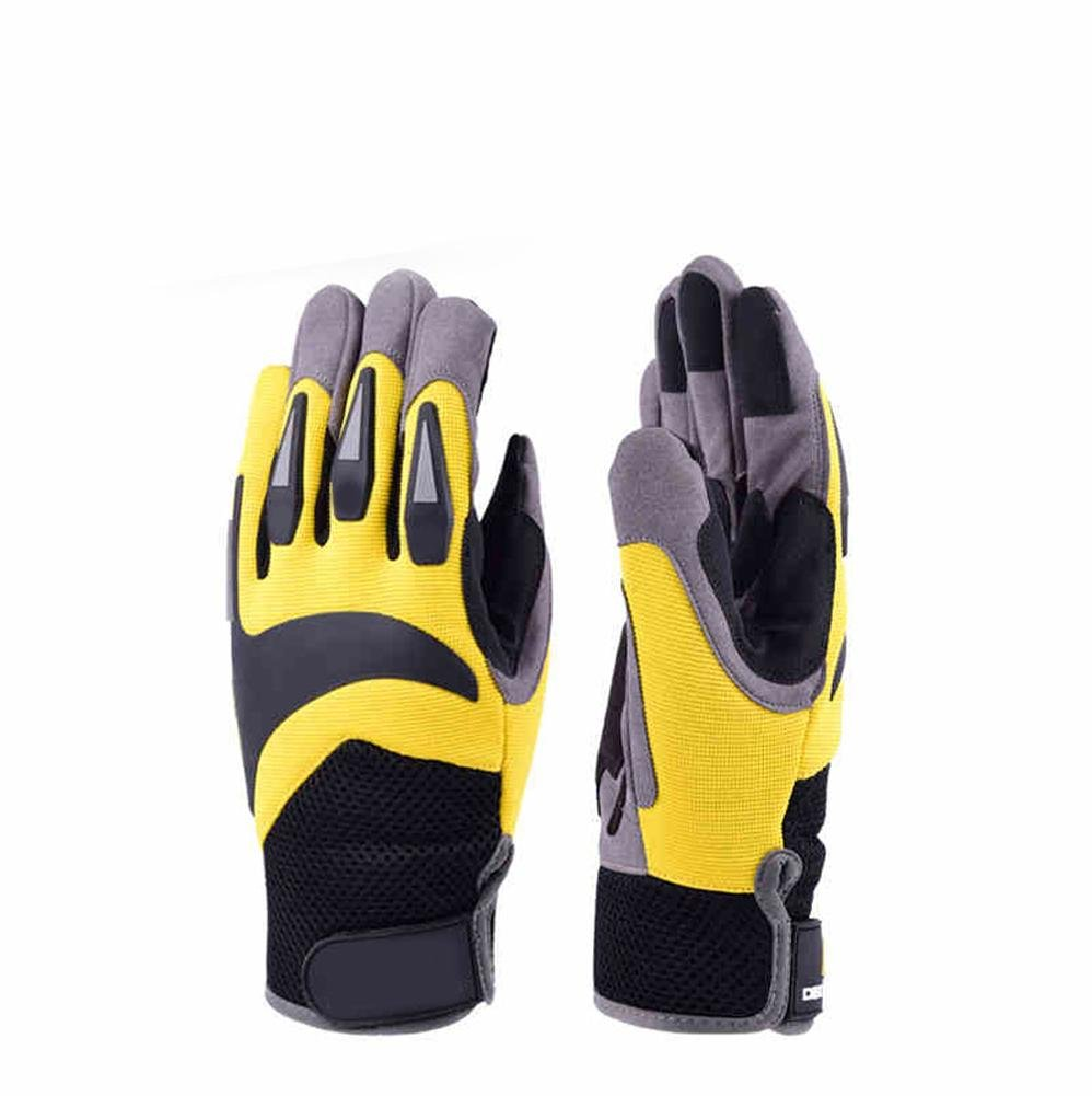 High - altitude outdoor sports gloves men summer wear - resistant breathable comfort safe riding anti - cutting accessories