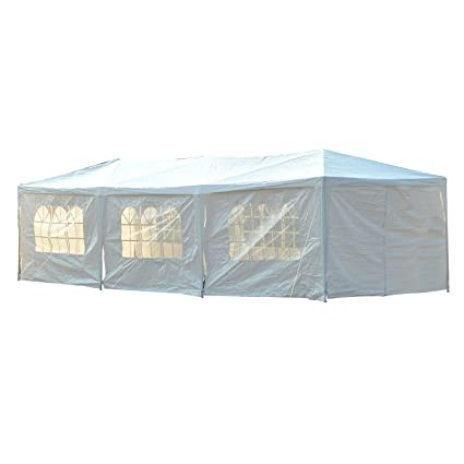 Outsunny Gazebo Canopy Party Tent with Removable Side Walls 10u0027 x 30u0027  sc 1 st  Amazon.com & Amazon.com: Outsunny Gazebo Canopy Party Tent with Removable Side ...