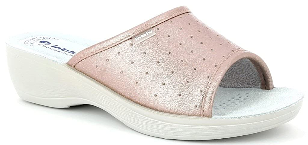 INBLU Pantofole Ciabatte SANITARIE Donna MOD. PL-45 Rame -