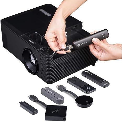Infocus IN2138HD Video - Proyector (4500 lúmenes ANSI, DLP, 1080p ...