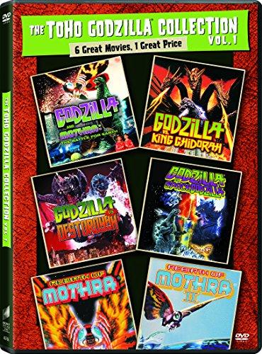 - Godzilla Vs. Destroyah / Godzilla Vs. Spacegodzilla / Godzilla Vs. King Ghidorah / Godzilla Vs. Mothra (1992) / Rebirth of Mothra / Rebirth of Mothra II - Set