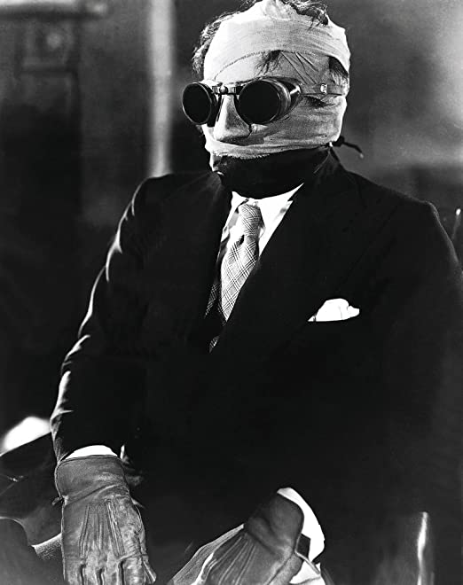 Movie Cinema Poster Art Ver THE INVISIBLE MAN 1933 Claude Rains 3