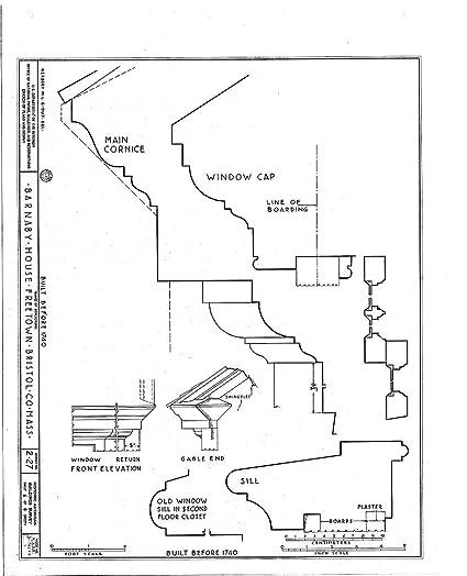 Amazon Com Blueprint Diagram Habs Mass 3 Freto 1 Sheet 6 Of 8