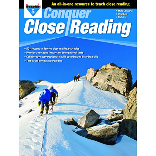 - Newmark Learning Grade 5 Conquer Close Reading Aid
