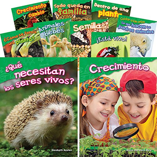 Let's Explore Life Science Grades K-1 Spanish, 10-Book Set (Science Readers: Content and Literacy) (Spanish - Literacy Reader