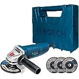 """Esmerilhadeira angular Bosch GWS 850 de 4 1/2"""" 850W 127V com maleta"""