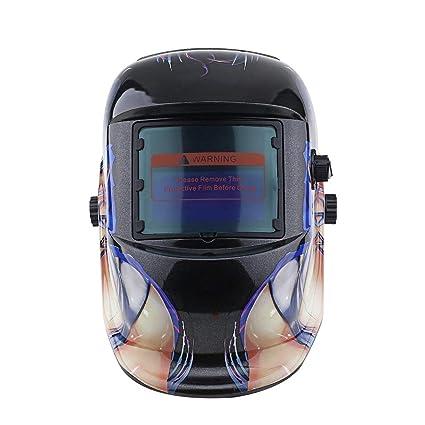 Máscara de soldadura, Energía Solar Luz automática que cambia la máscara de soldadura eléctrica Oscurecimiento