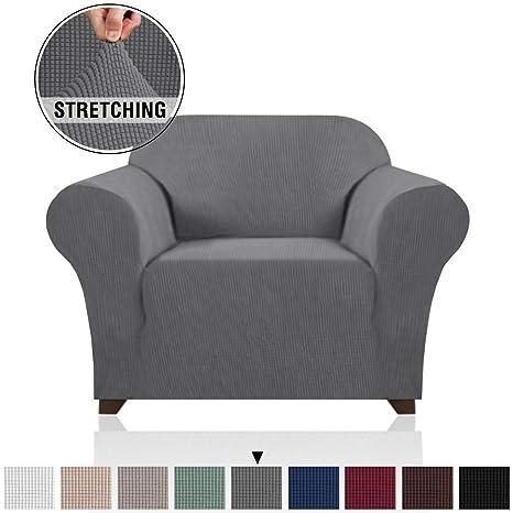 PrinceDeco - Funda para sofá de 1 Pieza, Alta Elasticidad ...