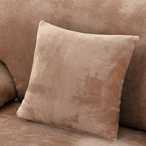 Samber Mixed Spinning Sofa Sets Cover All-inclusive Sofa Cover (Camelc, Pillowcase)