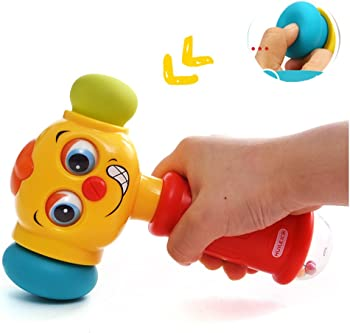 Homofy Baby Toys Funny Changeable Hammer Kids Toys