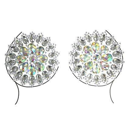 Pegatinas en el pecho diamante cristal palo diamante tatuaje palo ...