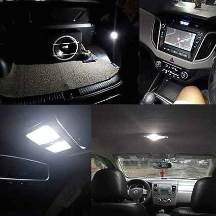 Cob Auto Led Leuchtmittel 12 V 200 Lm Led Soffittenlampe Für Auto Innenraum Kartenleser Lkw Kennzeichenbeleuchtung Rücklicht Instrumenten Cluster Lichter Unter Der Haube Auto