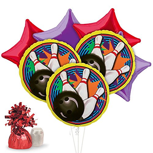 Costume SuperCenter Bowling Balloon Kit (Each) - Party Supplies -