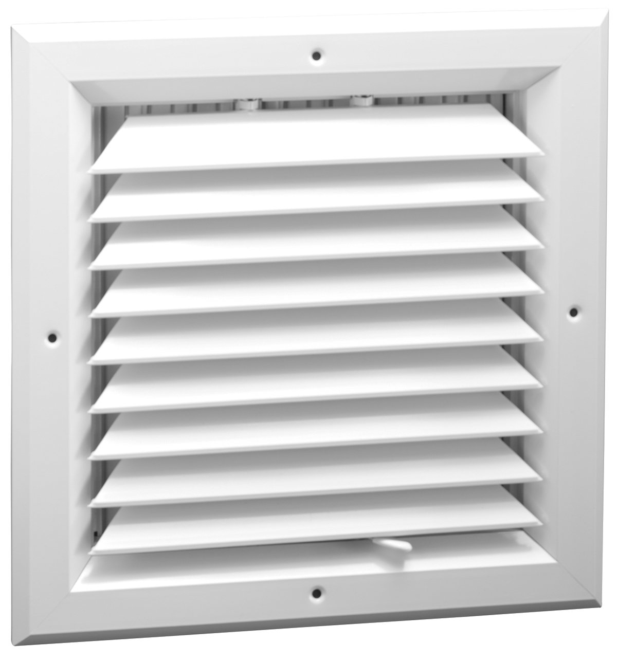 8'' x 8'' - 1-Way Extruded Aluminum Ceiling Diffuser Square - HVAC Vent Cover