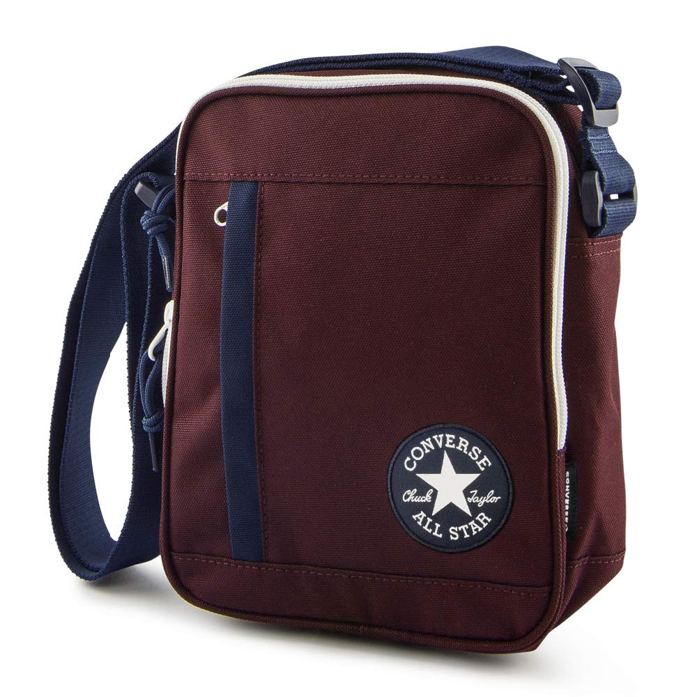 19a6f7675e1d CONVERSE Poly Cross Body DK Burgundy Navy  Amazon.co.uk  Shoes   Bags