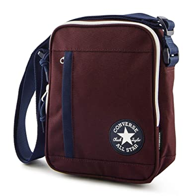 4ccc9edbc889c CONVERSE Poly Cross Body DK Burgundy Navy  Amazon.co.uk  Shoes   Bags