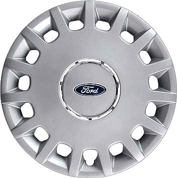 Serie de 4 tapacubos con tachuelas para cubrir las ruedas del Ford, no originales: Amazon.es: Coche y moto