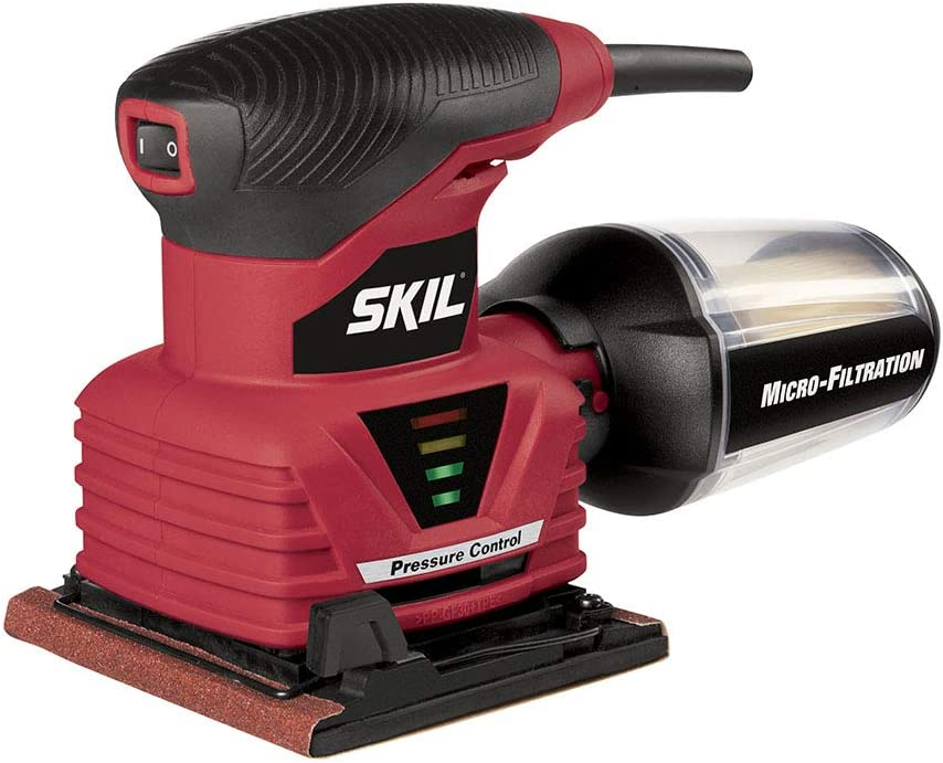 SKIL Palm Sander with Pressure Control