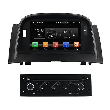 Android 4GB Ram 8.0 Octa Core DVD DVD de navegación GPS Reproductor multimedia Estéreo para Renault