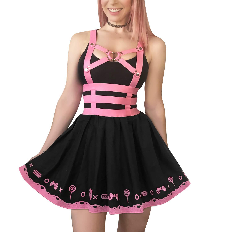 Amazon.com: Littleforbig Overall Skirt Romper – Bondage ...