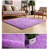 bluesnail super ultra soft modern shag area rugs 4u0027 x 5u0027 bedroom livingroom sittingroom floor rug carpet blanket for children play home decorate