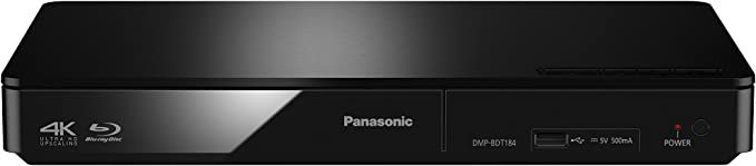 Panasonic DMP-BDT184EG reproductor de CD/Blu-Ray Reproductor de ...