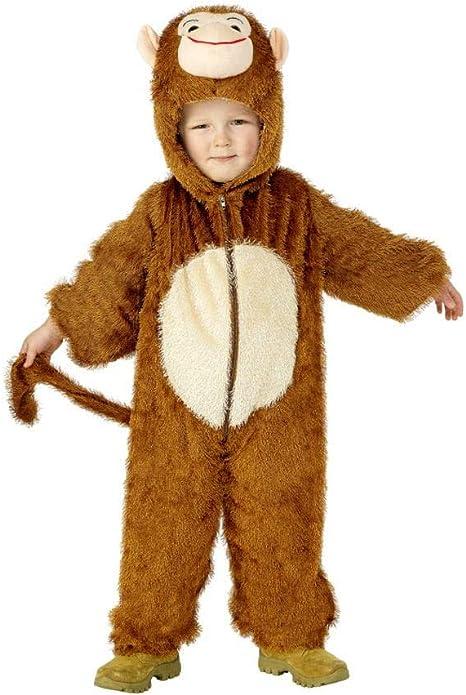 Horror-Shop Disfraz de mono para niños S 115-128: Amazon.es ...