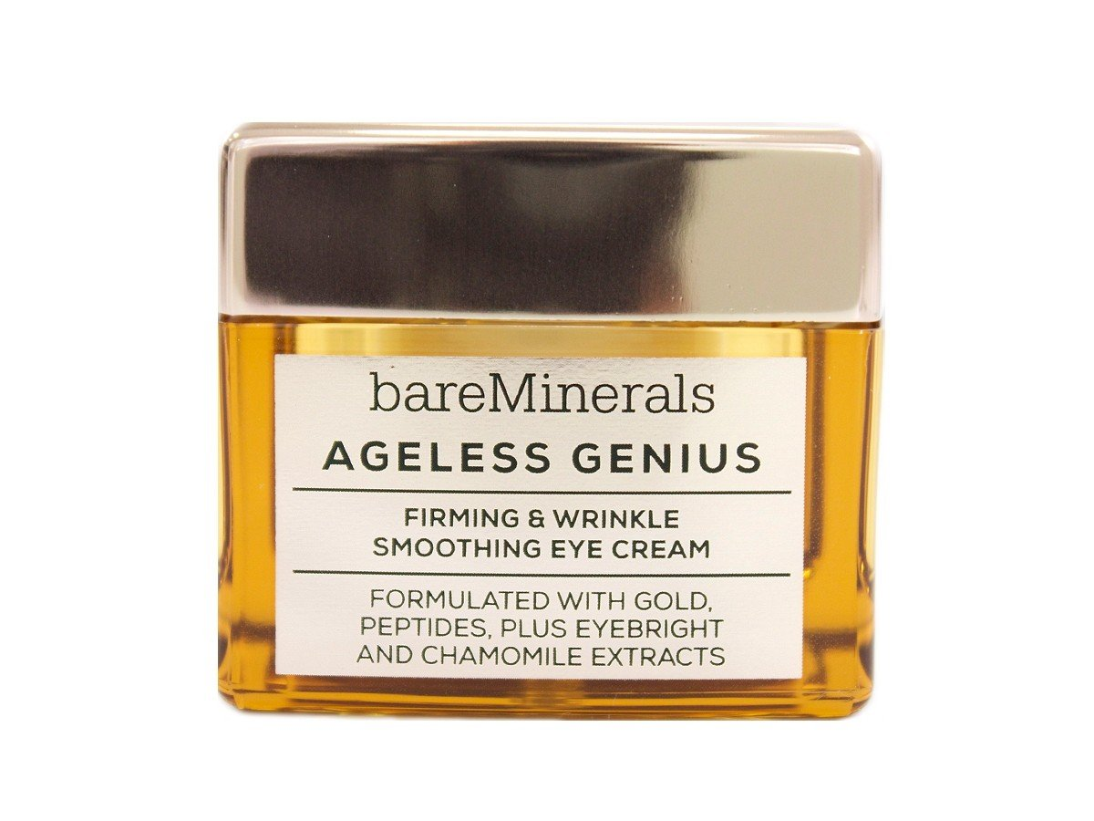 63595b7ec30a Amazon.com  bareMinerals Ageless Genius Firming and Wrinkle Smoothing Eye  Cream