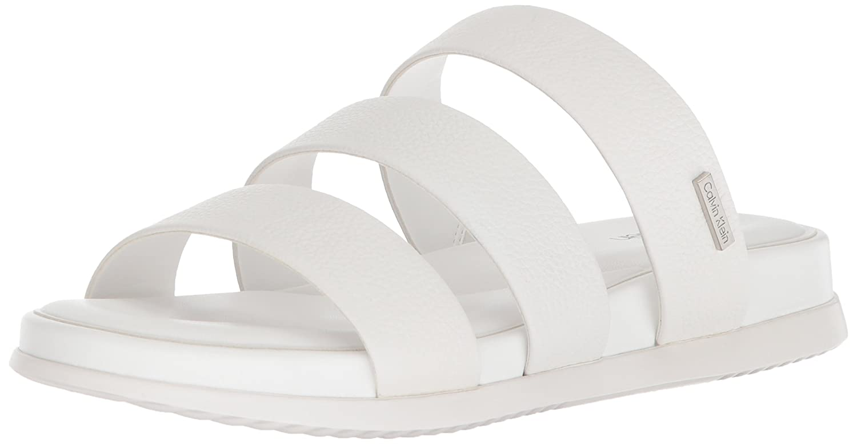 Calvin Klein Women's Dalana Slide Sandal B077J3SJBD 11 B(M) US|Platinum White