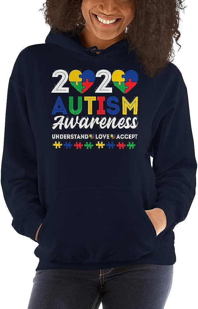 2020 Autism Awareness Understand Love Accept Unisex Hoodie