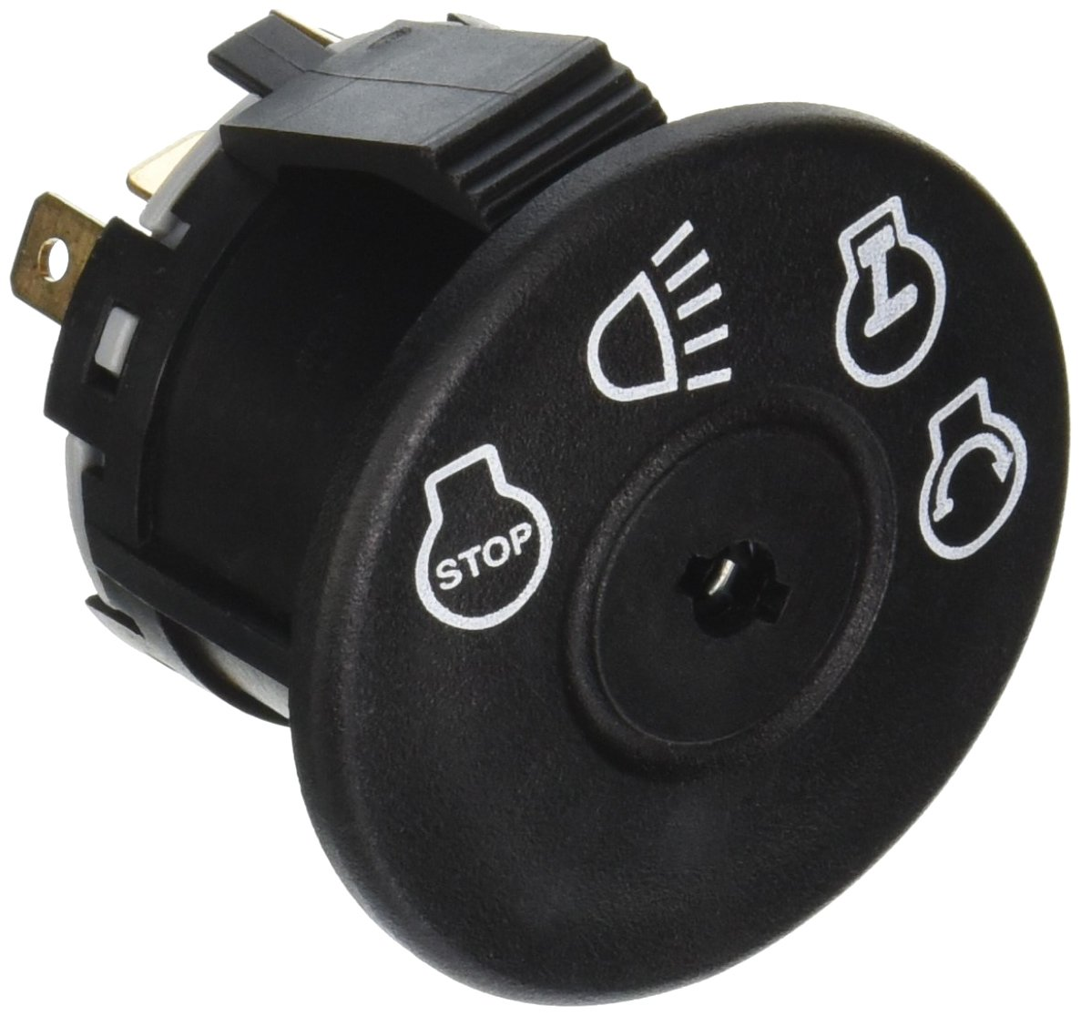 Stens 430-445 Starter Switch Replaces MTD 925-1741 Murray 94762MA AYP 175566 175442 John Deere GY20074 Husqvarna 532 17 55-66 Murray 94762 AYP 163968 MTD 725-1741 by Stens