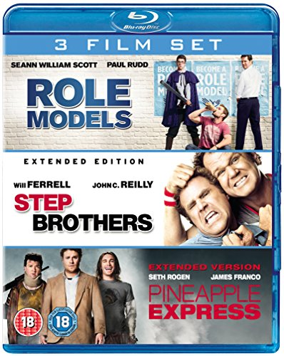 Role Models/Pineapple Express/Step Brothers [Blu-ray] (Blu Ray Pineapple Express)