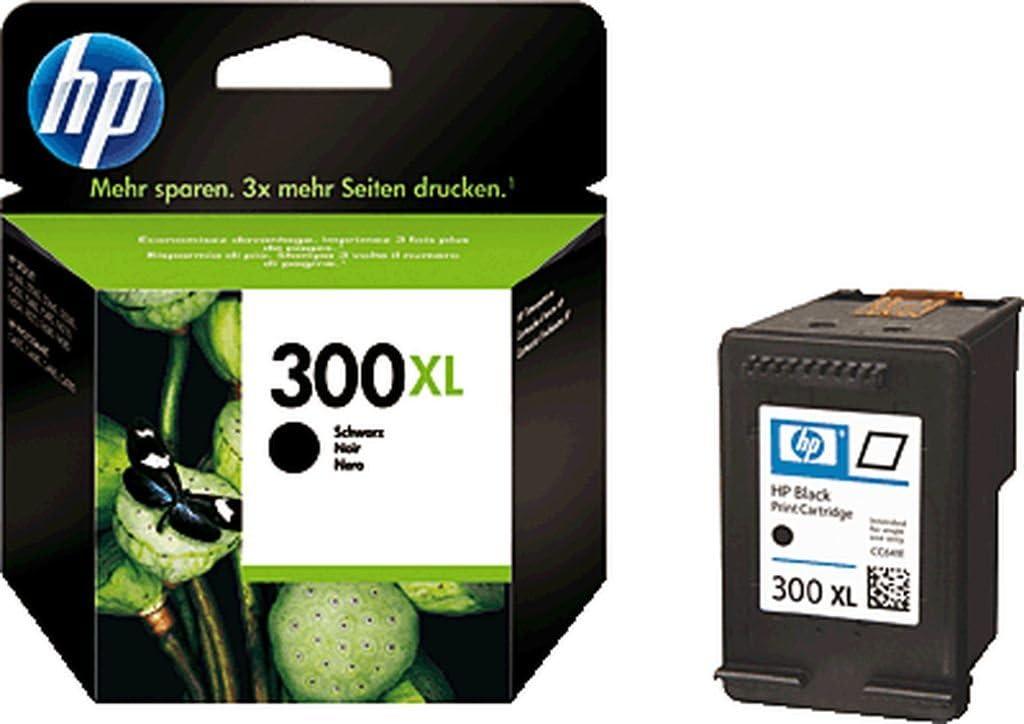 HP Cartucho de tinta 300 X L/CC641EE Negro Deskjet D2560/F4280 Inh.12 ml: Amazon.es: Salud y cuidado personal