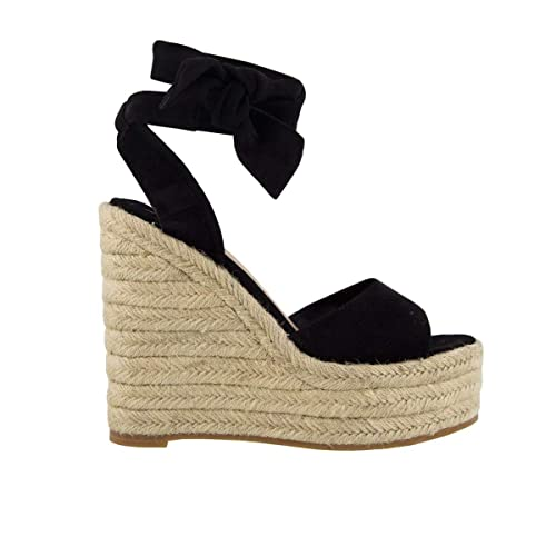 half off online shop fashion Tony Bianco Barca Womens Wedge - peep-Toe Front and Espadrille Wedge  Platform Sole